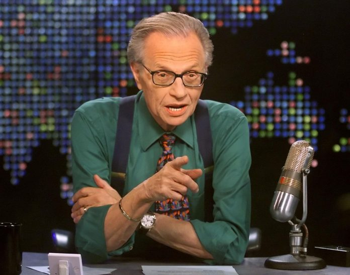 Larry King in one of his Interviews