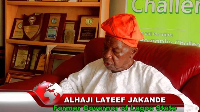 First Executive Governor of Lagos State, Alhaji Pa Lateef Kayode Jakande