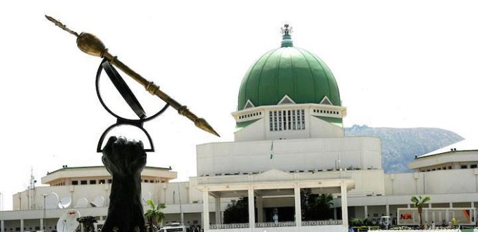 The Nigerian National Assembly (NASS) at Federal Capital Territory Abuja.