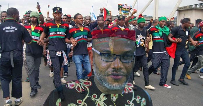 The Leader of the Indigenous People of Biafra (IPOB) Price Nnamdi Kanu
