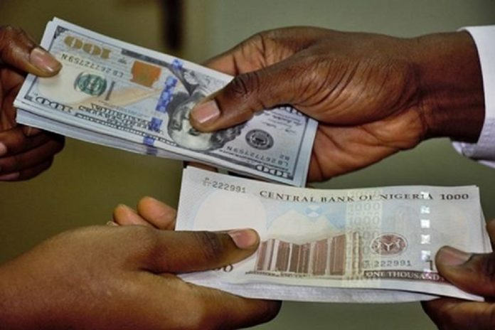 Naira Depreciates To An All Record Low Againat The US Dollars And Other Foreign Currencies.